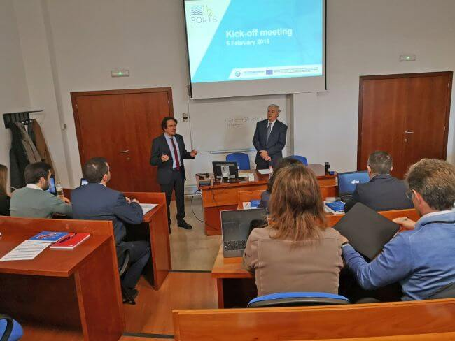 The H2PORTS project gets underway in Valencia