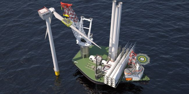 X-JACK HEAVY LIFT JACK-UP STRENGTHENS AMBITIONS IN OFFSHORE WIND