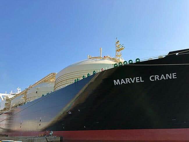 MHI Marvel Crane_LNGC