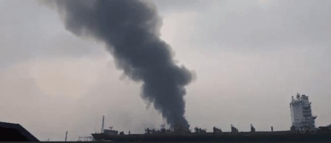Fire on board Greek tanker kills two shipbreaking workers in Bangladesh