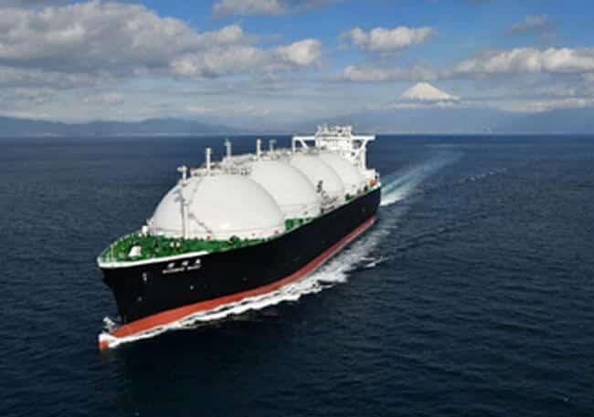 Delivery of LNG Transport Vessel SHINSHU MARU