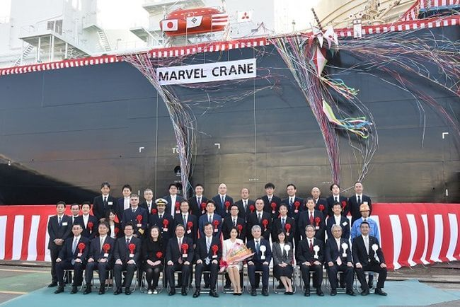 New LNG Carrier Named Marvel Crane