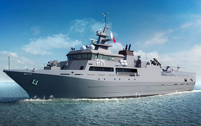 Rolls-Royce wins contract to supply propulsion package for new Patrol Vessel for Malta