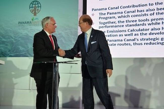 The Panama Canal Joins Global Industry Alliance to Support Low Carbon Shipping