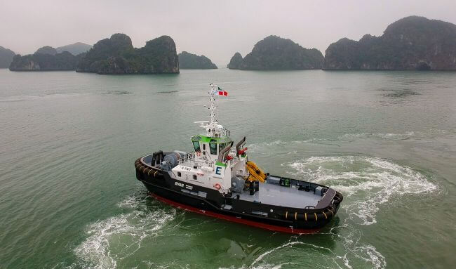 EMAR OFFSHORE SERVICES WELCOMES DAMEN ASD TUG 2811