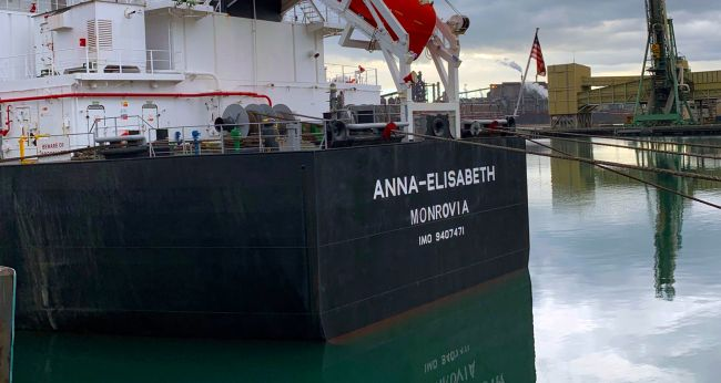 German bulk carrier detained after crew complain of no food, bullying and denial of shore leave