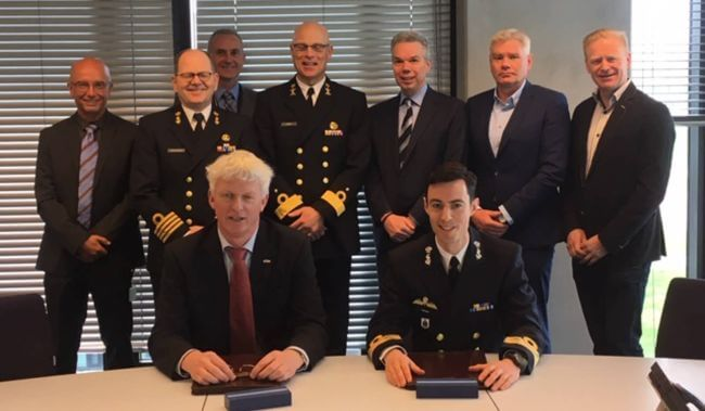 Damen Shipyards Den Helder signs order with Netherlands' Defense Material Organization for Expeditionary Survey Boat