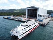 AUSTAL DELIVERS HIGH SPEED CATAMARAN TO BRAVE LINE