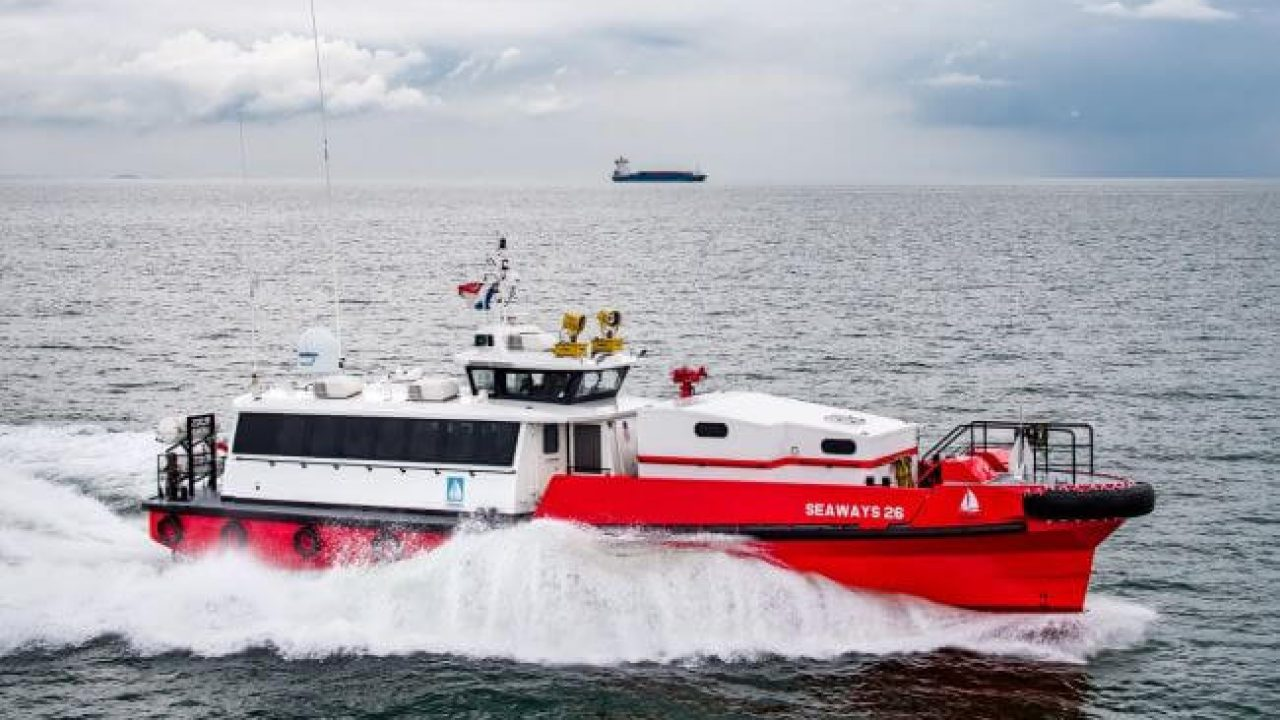 Damen Delivers Two Fast Crew Suppliers To Seaways