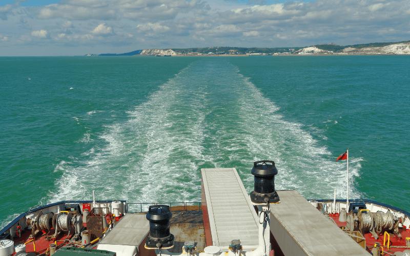 Dover strait ship