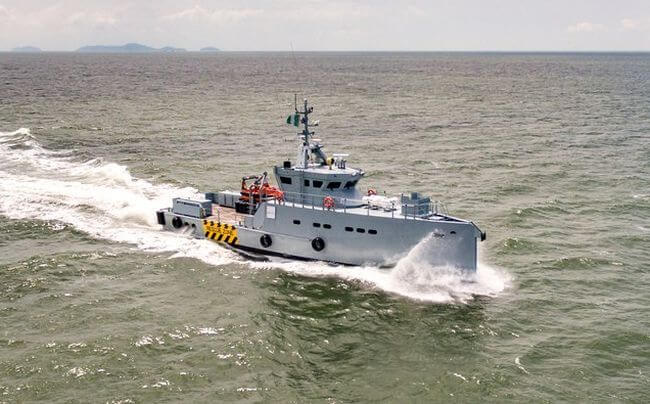 HOMELAND INTEGRATED OFFSHORE SERVICES OF NIGERIA ADDS TO ITS FLEET OF DAMEN 3307 PATROL