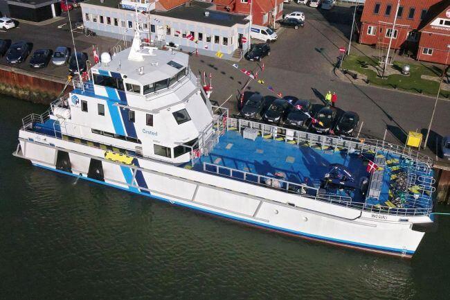 MH-O & Co 39m Multipurpose Crew Transfer Vessel (CTV) delivered