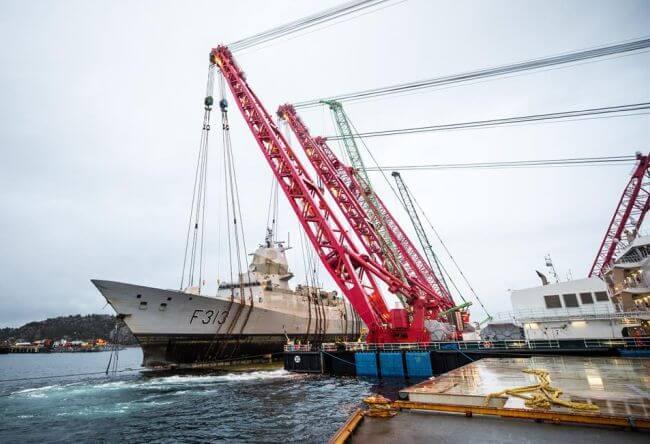 Norway Navy Frigate