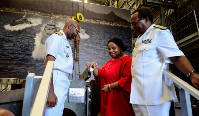 SA ECONOMY BENEFITS FROM THE BUILDING OF NEW NAVY VESSELS