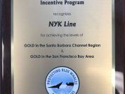 NYK Honored for Its Efforts to Protect Whales and Reduce Air Pollution
