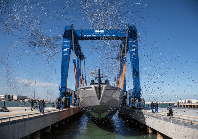 THE BIGGEST THRILL: PERSHING LAUNCHES THE FIRST UNIT OF ITS NEW FLAGSHIP PERSHING 140