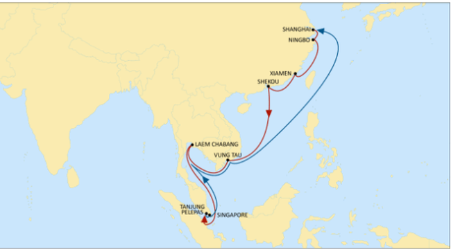 MSC OFFERS A NEW DEDICATED INTRA-ASIA SERVICE
