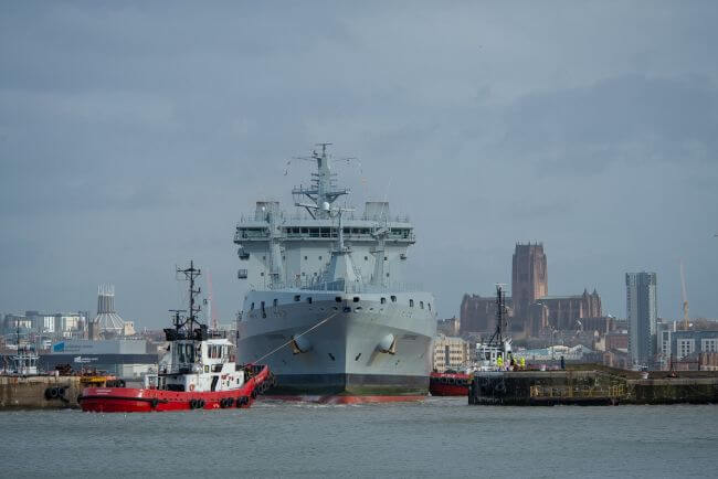CAMMELL LAIRD WELCOMES RFA TIDESPRING KICK-STARTING NEW 10-YEAR THROUGH LIFE SUPPORT CONTRACTS