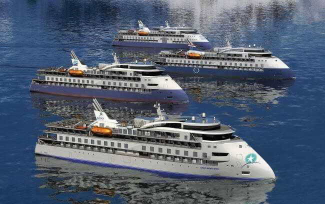 ULSTEIN TAKES STRONG POSITION IN CRUISE DESIGN