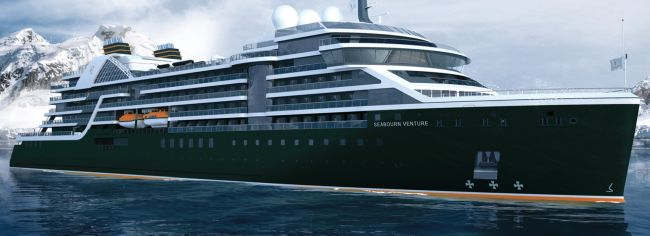 "Seabourn Names First New Ultra-Luxury Expedition Ship ""Seabourn Venture"""