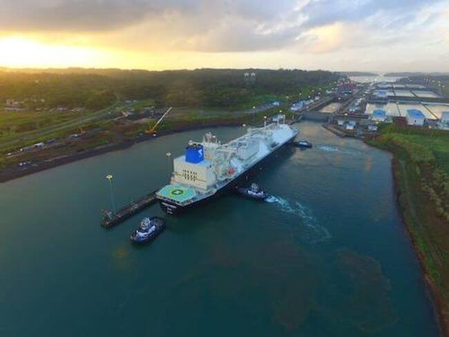 LNG Vessel Completes 6,000th Neopanamax Transit at the Panama Canal