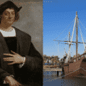 Christopher Columbus and ships