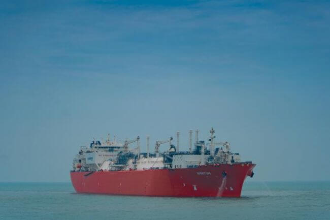 'Summit LNG' arrives ahead of schedule