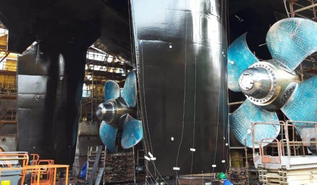 Damen Marine Components completes supply of unique rudder and steering gear system to ice breaker