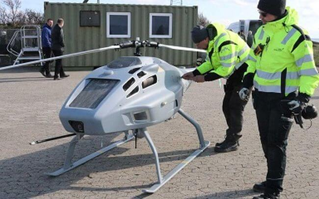 Sulphur-sniffing drone to patrol Danish waters
