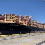 Kota Pekarang_12000 TEU Port Of North Carolina
