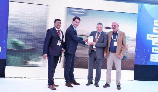 Albwardy Damen receives MASTECH award for the new Damen Multibuster 8020