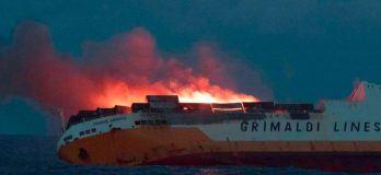 MV Grande America - Navy Lookout