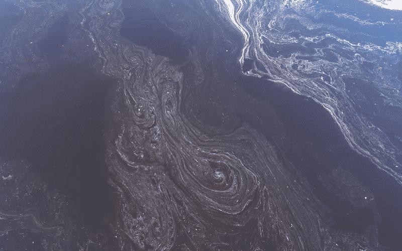 Ocean oil spill