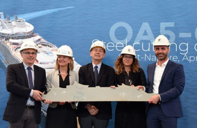 Royal Caribbean Begins Construction On Fifth Oasis Class Ship