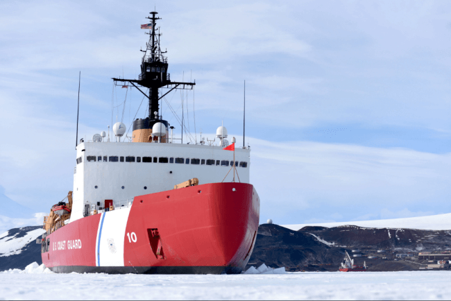 USCG Awards $745 Million Contract For Building Ice Breaker