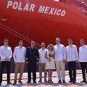 "Hamburg Süd christens ""Polar Mexico"" in Veracruz"