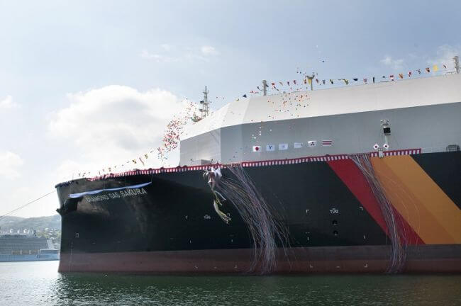 Naming Ceremony Held for LNG Carrier Assigned to Cameron LNG Project