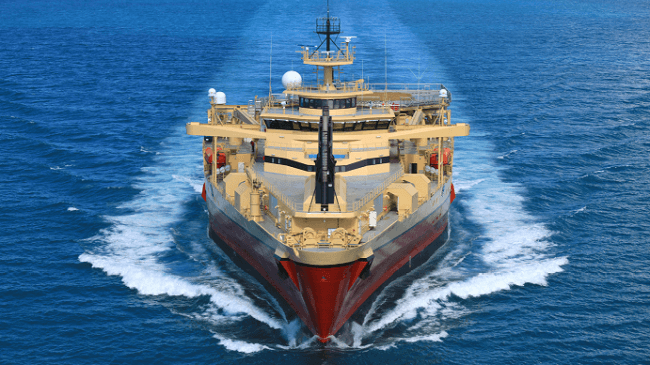NYK Enters Geophysical Survey Business