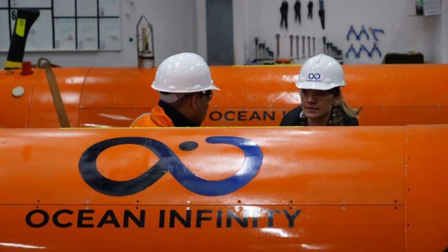 OCEAN INFINITY CONCLUDES SUBSEA INSPECTION ON WRECK OF MV GRANDE AMERICA