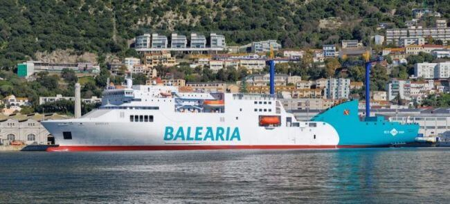 Balearia Ferry LNG_2