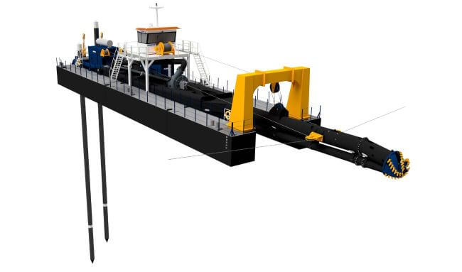 Innovative deep cutter suction dredger unveiled