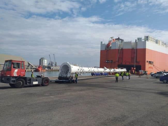 Spanish ports handled 246 million tons of goods with European origin/destination