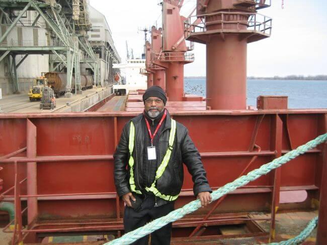 Maersk crew supported after seafarer falls overboard