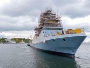 Naming world's most modern corvette for the Israeli Navy