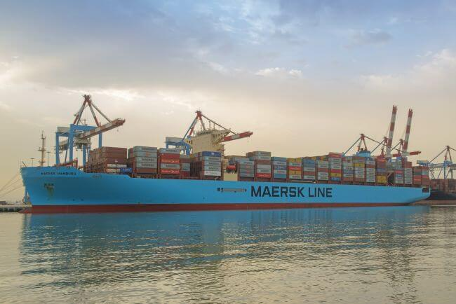 Maersk Hamburg Sets a surprising new Record for Israel this weekend
