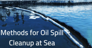 Methods for Oil Spill Cleanup at Sea