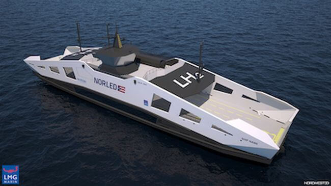 FLAGSHIPS project to deploy two hydrogen vessels