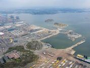 Port of gothenburg new terminal