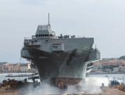 "The Multipurpose Amphibious Unit ""Trieste"" Launched In Castellammare Di Stabia"