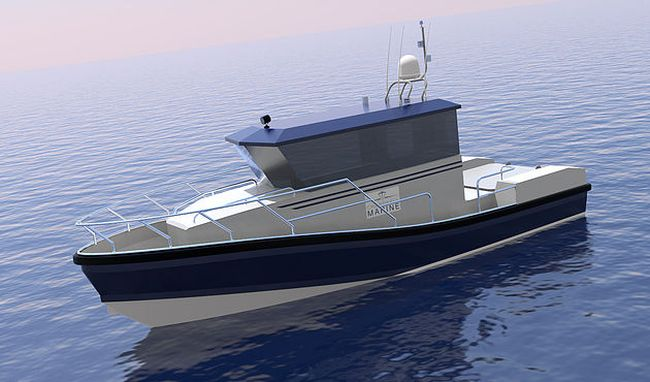 Wight Shipyard Co hybrid patrol vessel clean and low cost